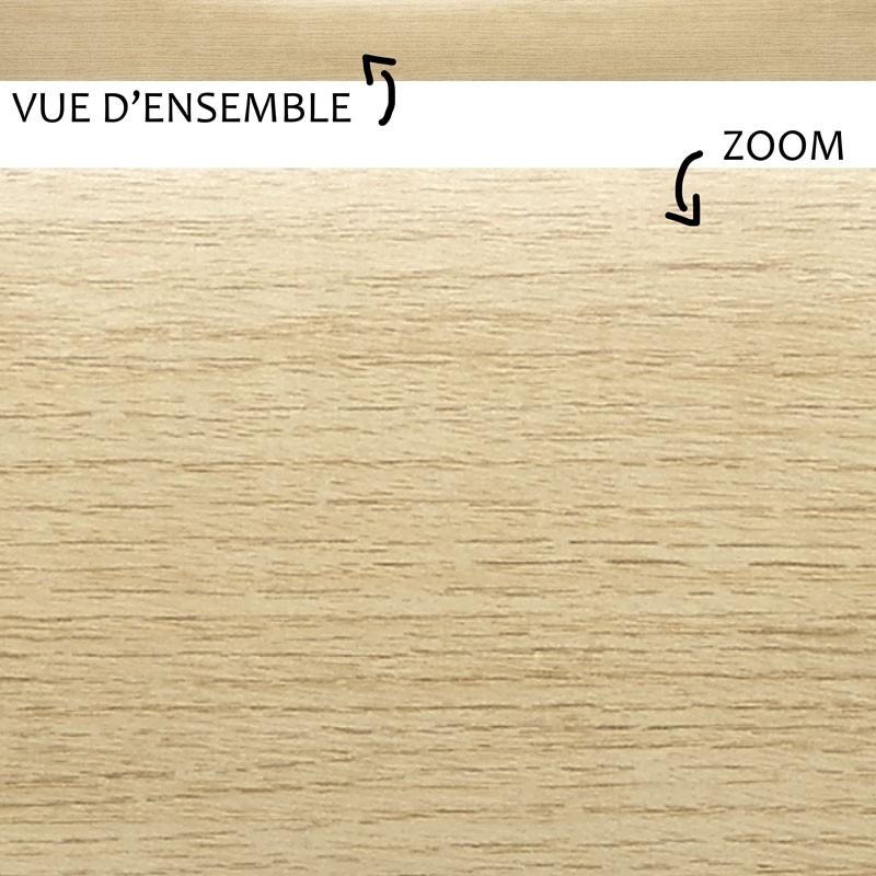 Un effet bois bluffant pour ces plinthes PVC faciles à poser