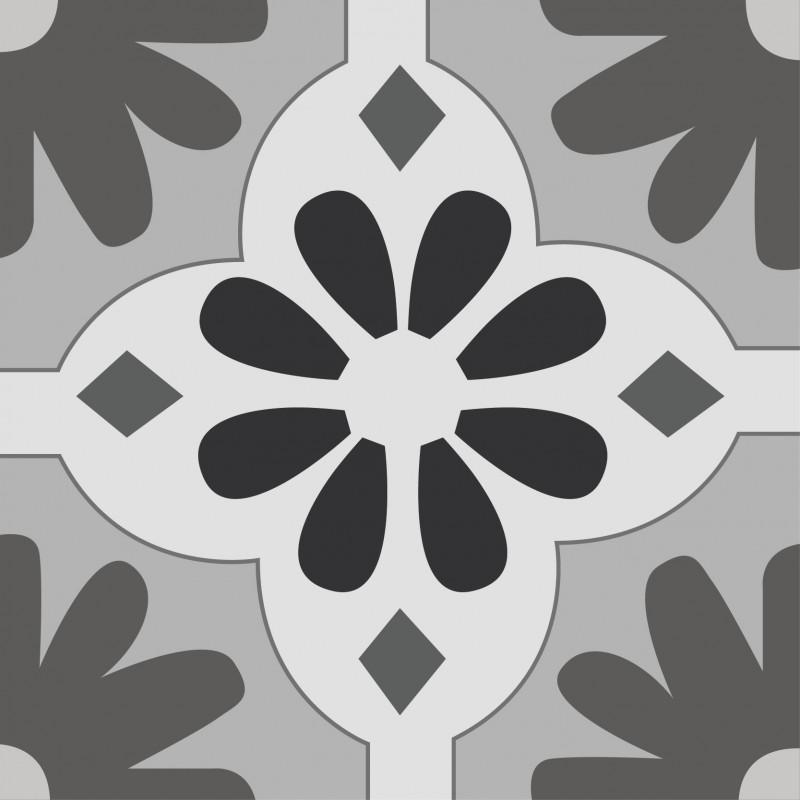 lot de 6 dessous de verres antid rapant carreaux de ciment 99 d co. Black Bedroom Furniture Sets. Home Design Ideas