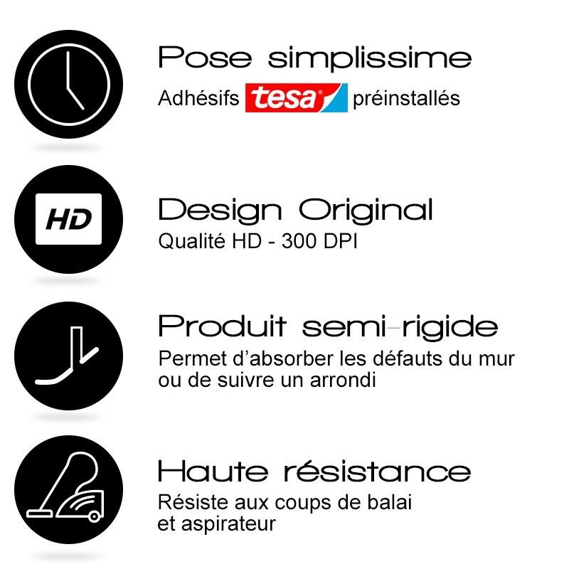 """Les atouts des plinthes blanches en PVC """"Ma Plinthe Déco"""""""